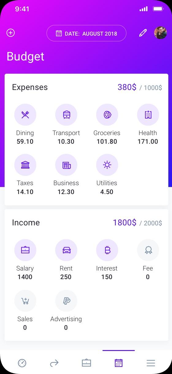 IOWallet personal wallet app