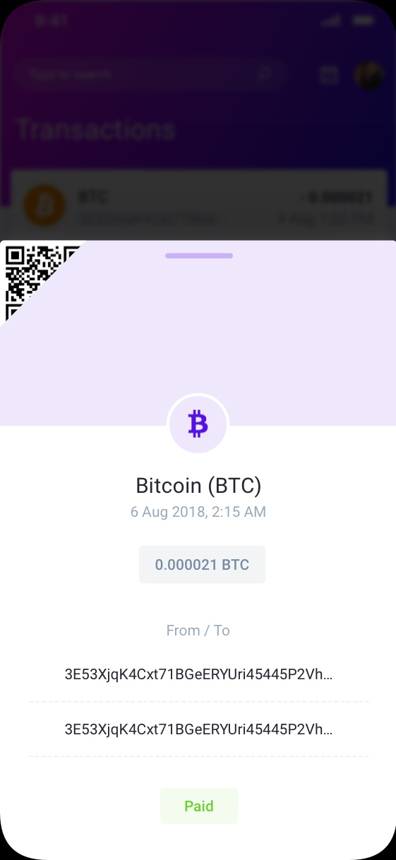 iowallet cryptocurrency ui preview