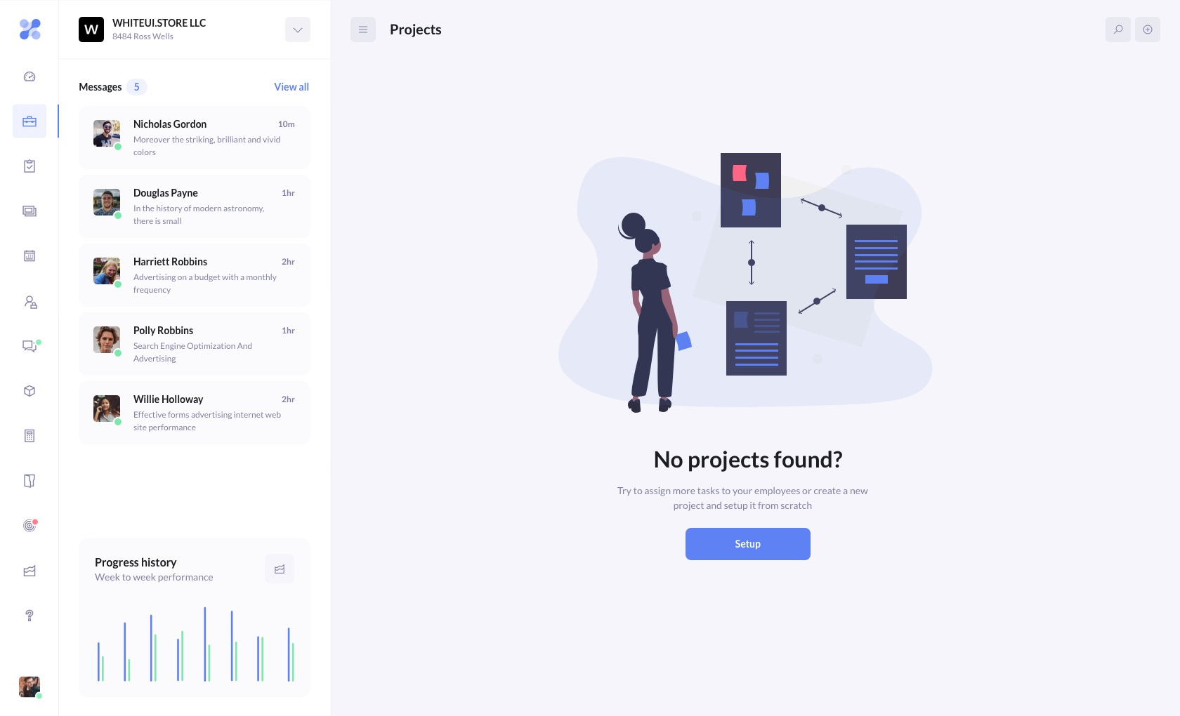 betacrm preview projects