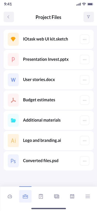 betacrm preview projects mobile