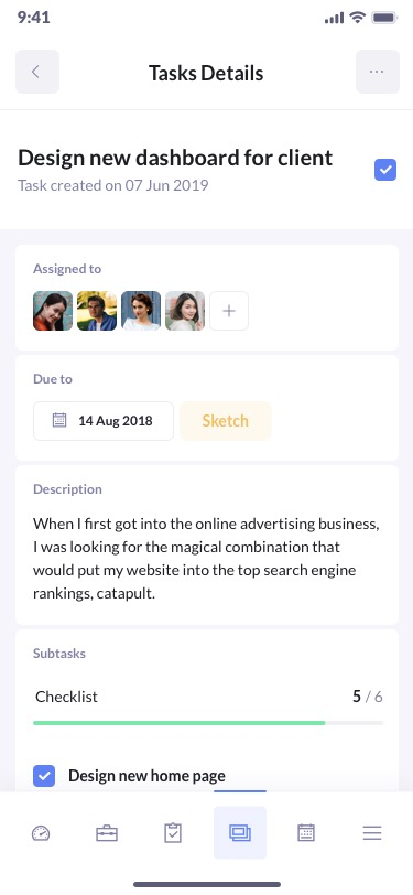 betacrm preview kanban mobile