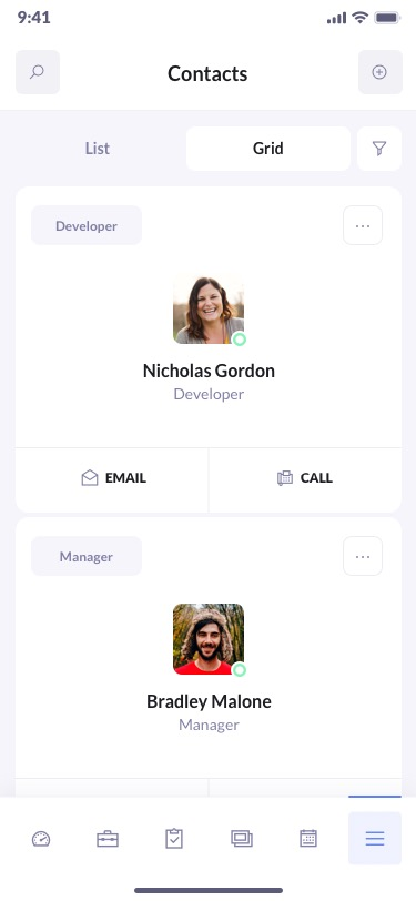 BetaCRM Contacts