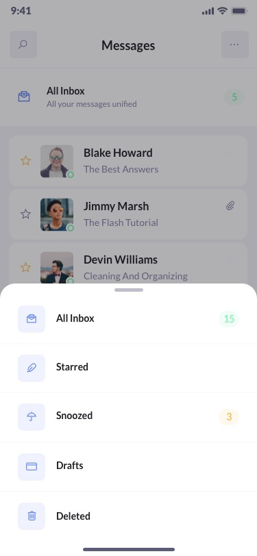 betacrm preview messages mobile