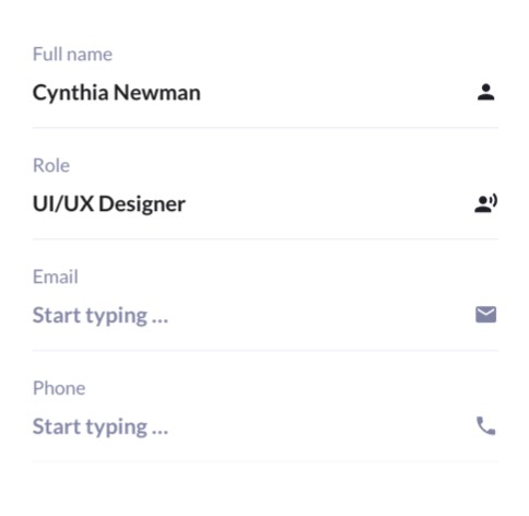 UI Kit Widget