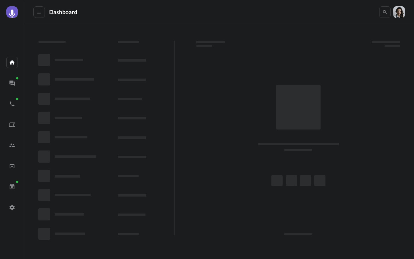 BetaCall Navigation Pages
