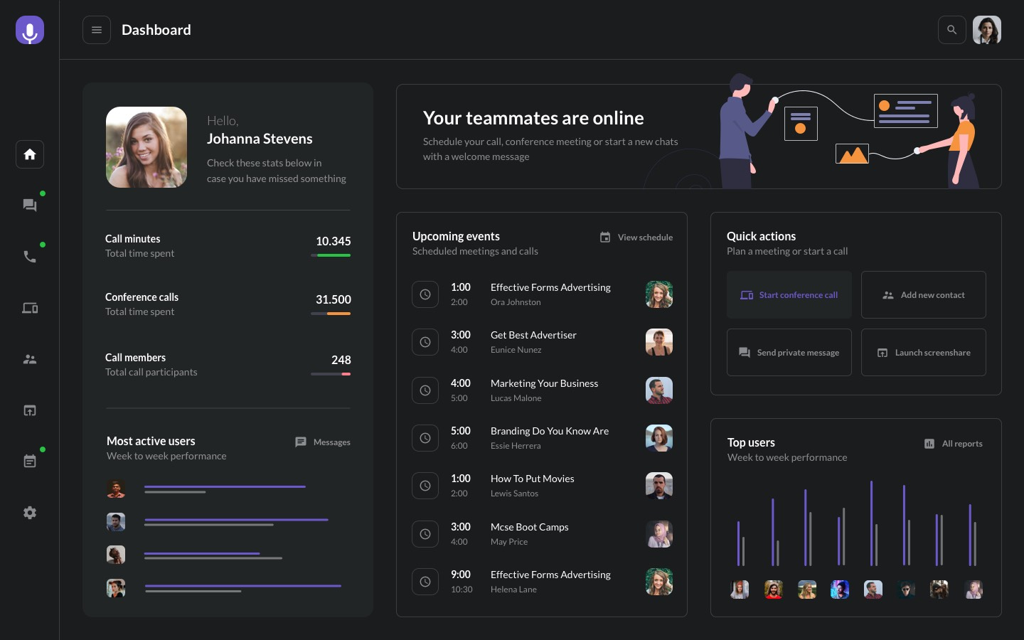 Dashboard Preview