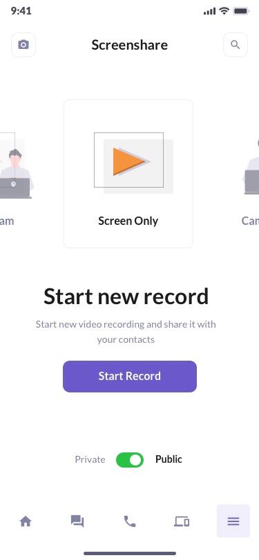 BetaCall Screen Sharing Tool
