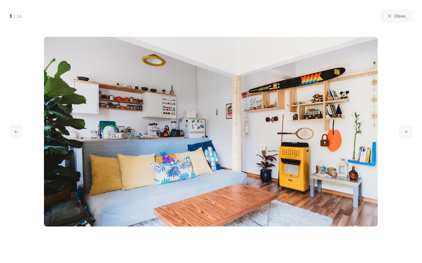 Roomsfy Apartment Listing