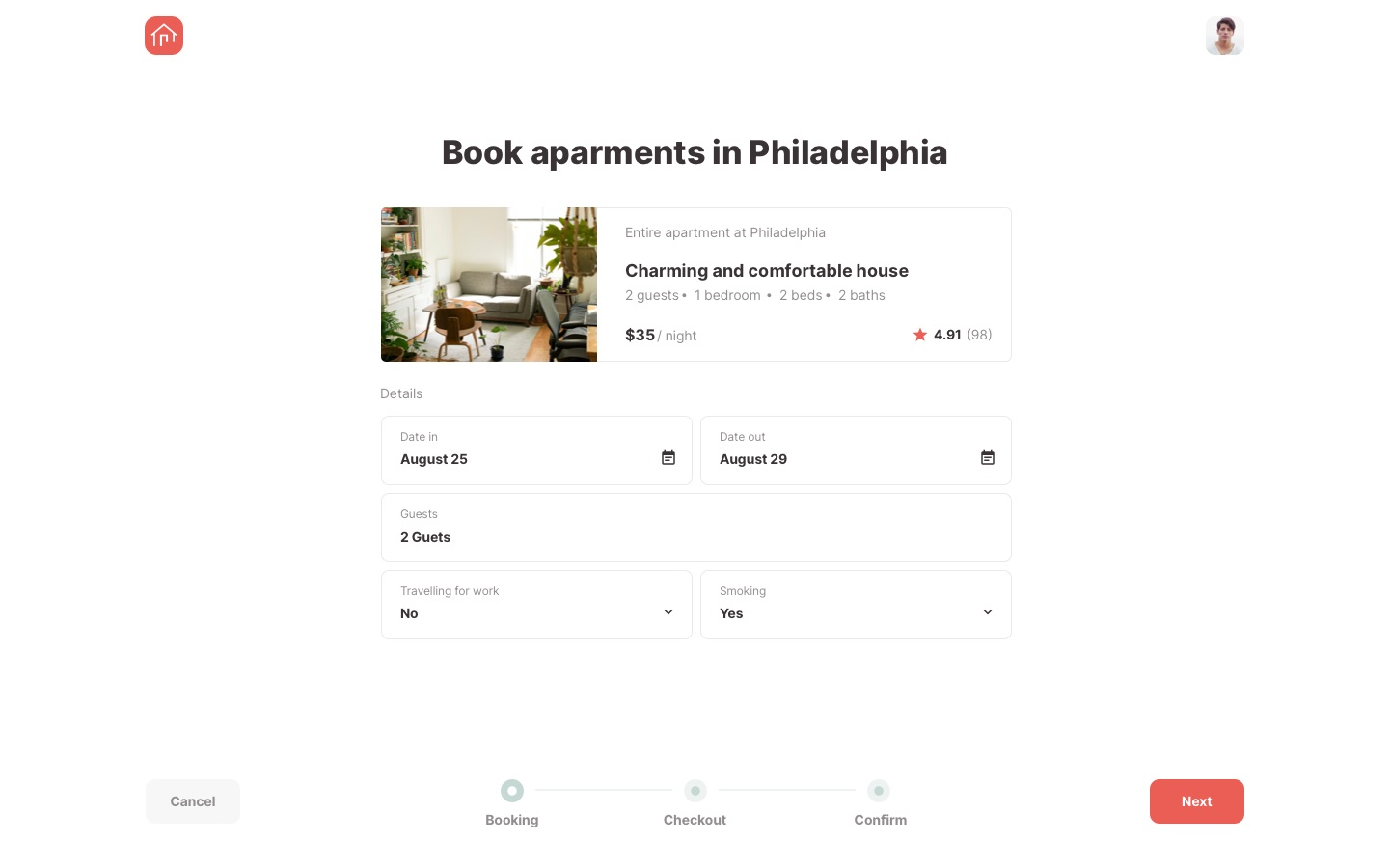 Roomsfy Book Apartments