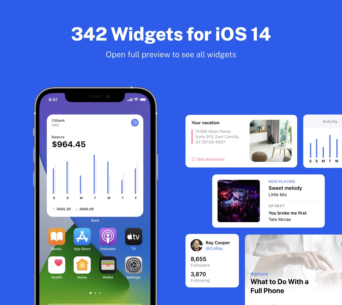 ios widgets for home screen