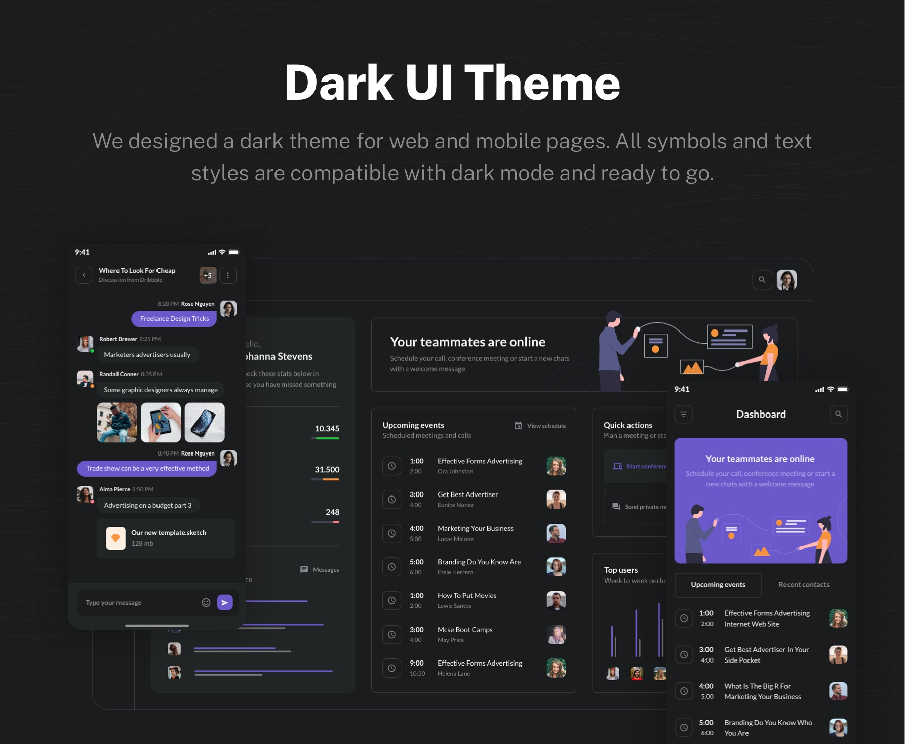 Dark UI Theme