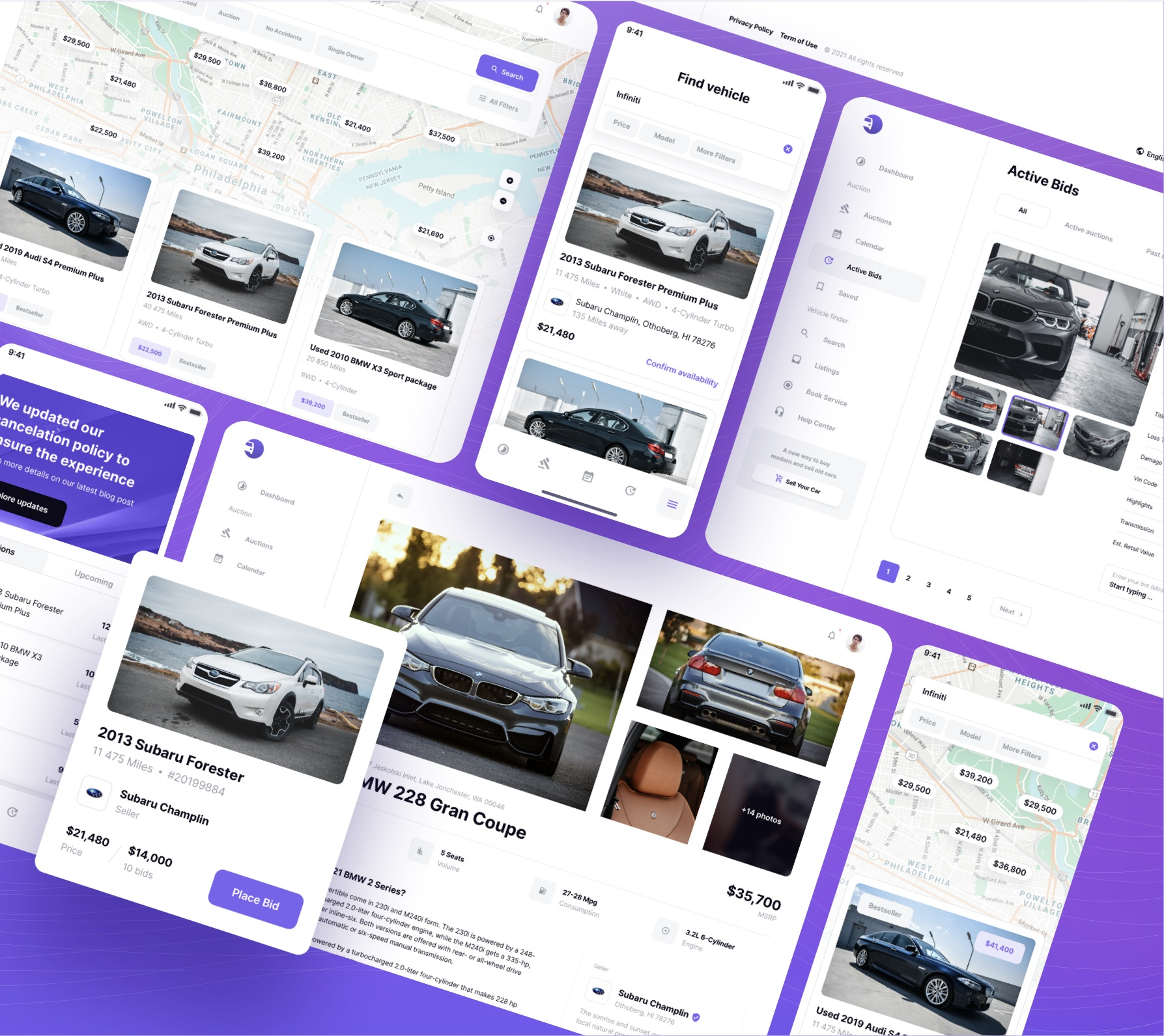 auto auctions template