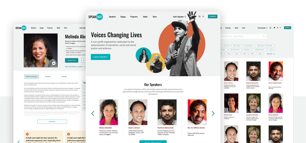 Speakout Redesign Concept
