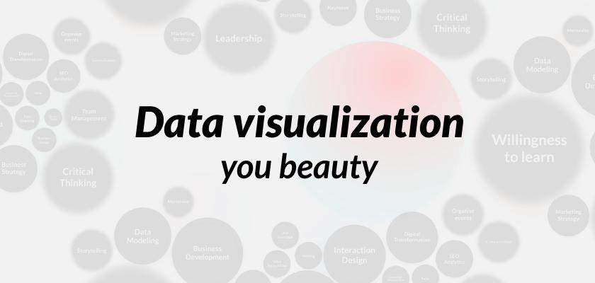 The beauty of data visualisation