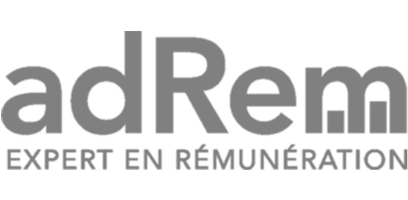 Customer logo : adRem - Expert en rémunération