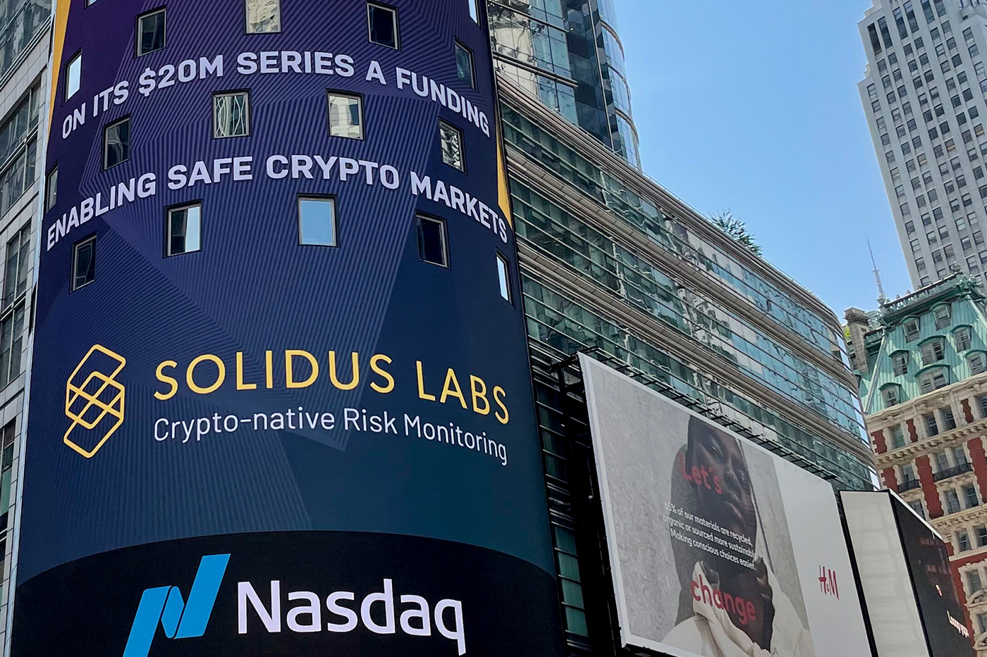 Solidus Labs Announces $20 Million A Round, to Enable Safe Crypto Markets and Transform Financial Risk Monitoring