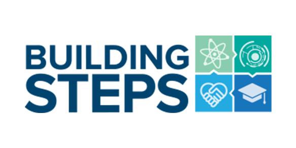 Building steps Logo