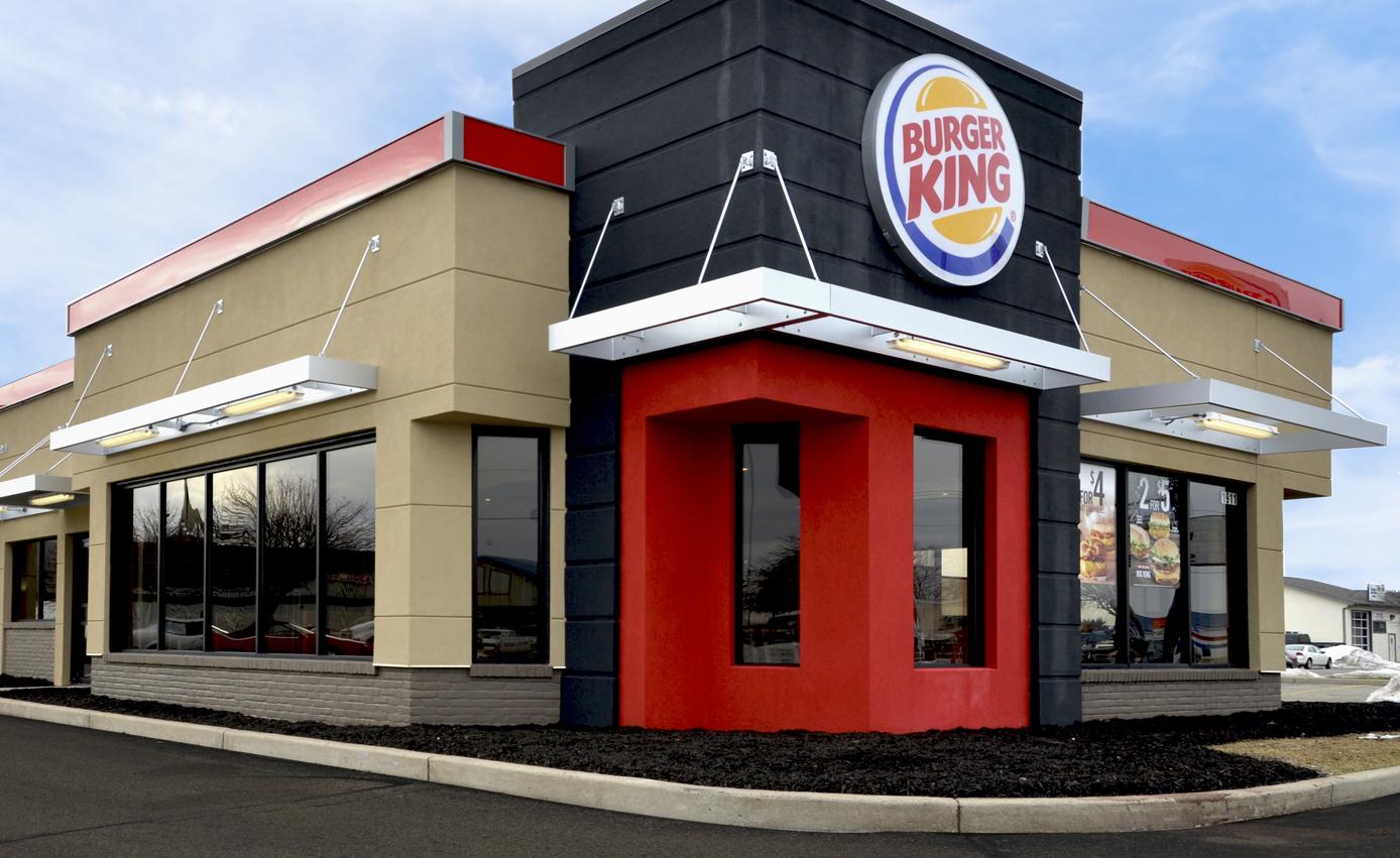 JPR designs restuarants for the Quality Dining family of restaurants like this Burger King.