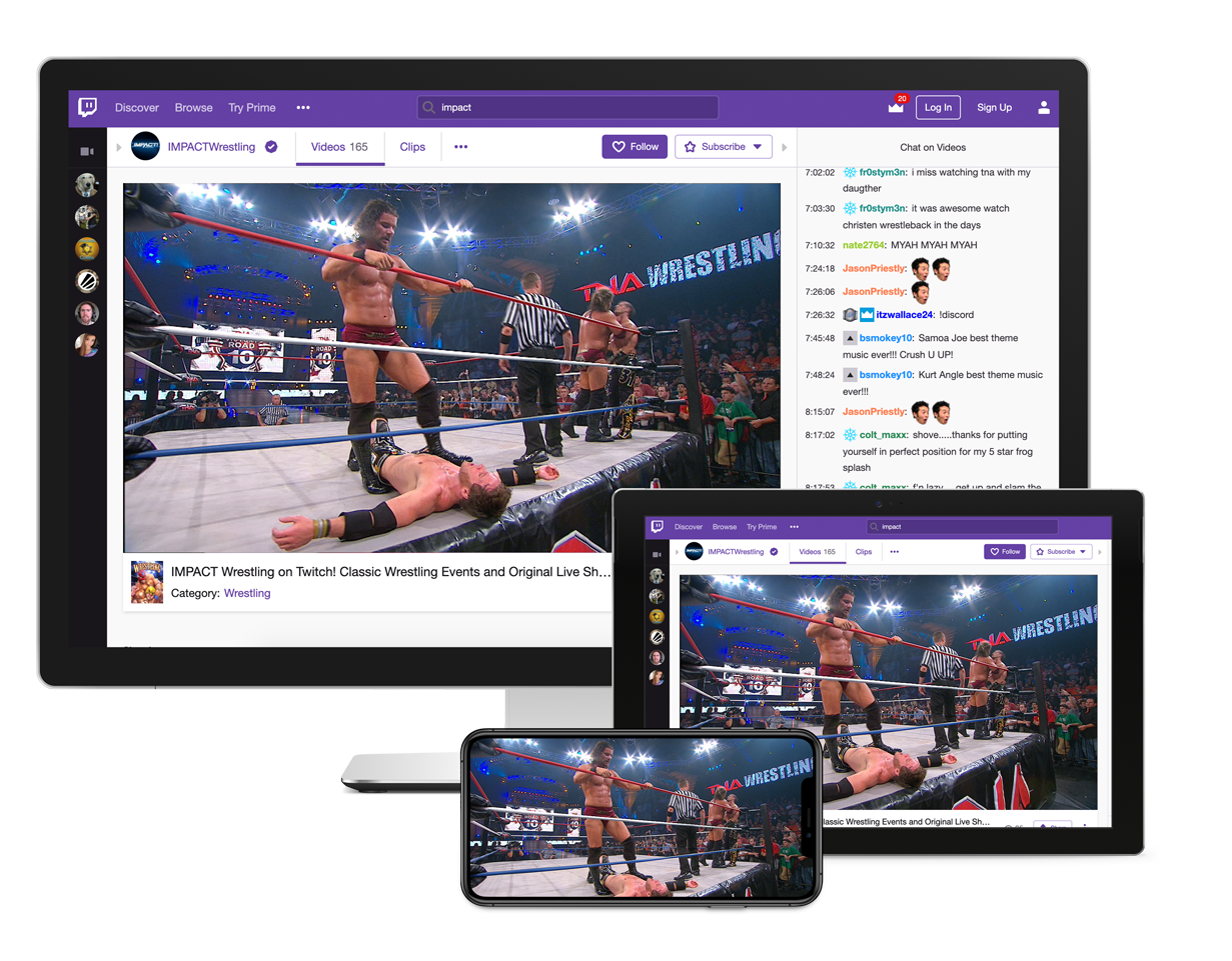 Helping you grow your brand digitally, on all devices. Wrestling on twitch.