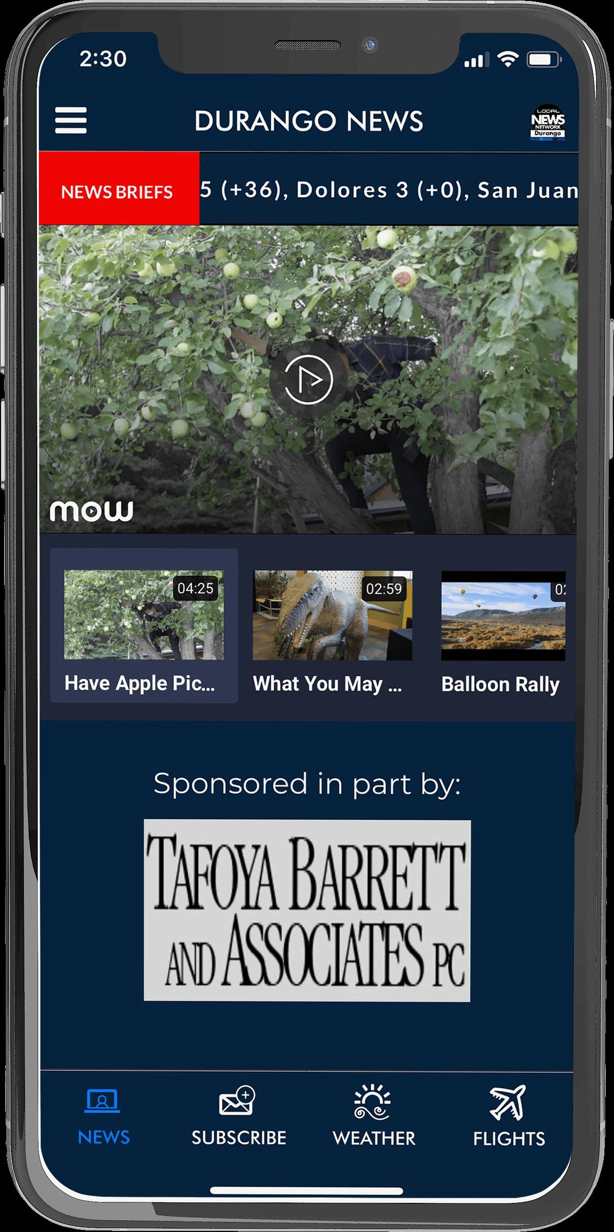 Download the Durango Local NEWS Mobile App!