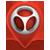 Logosimbolo detektor mapa