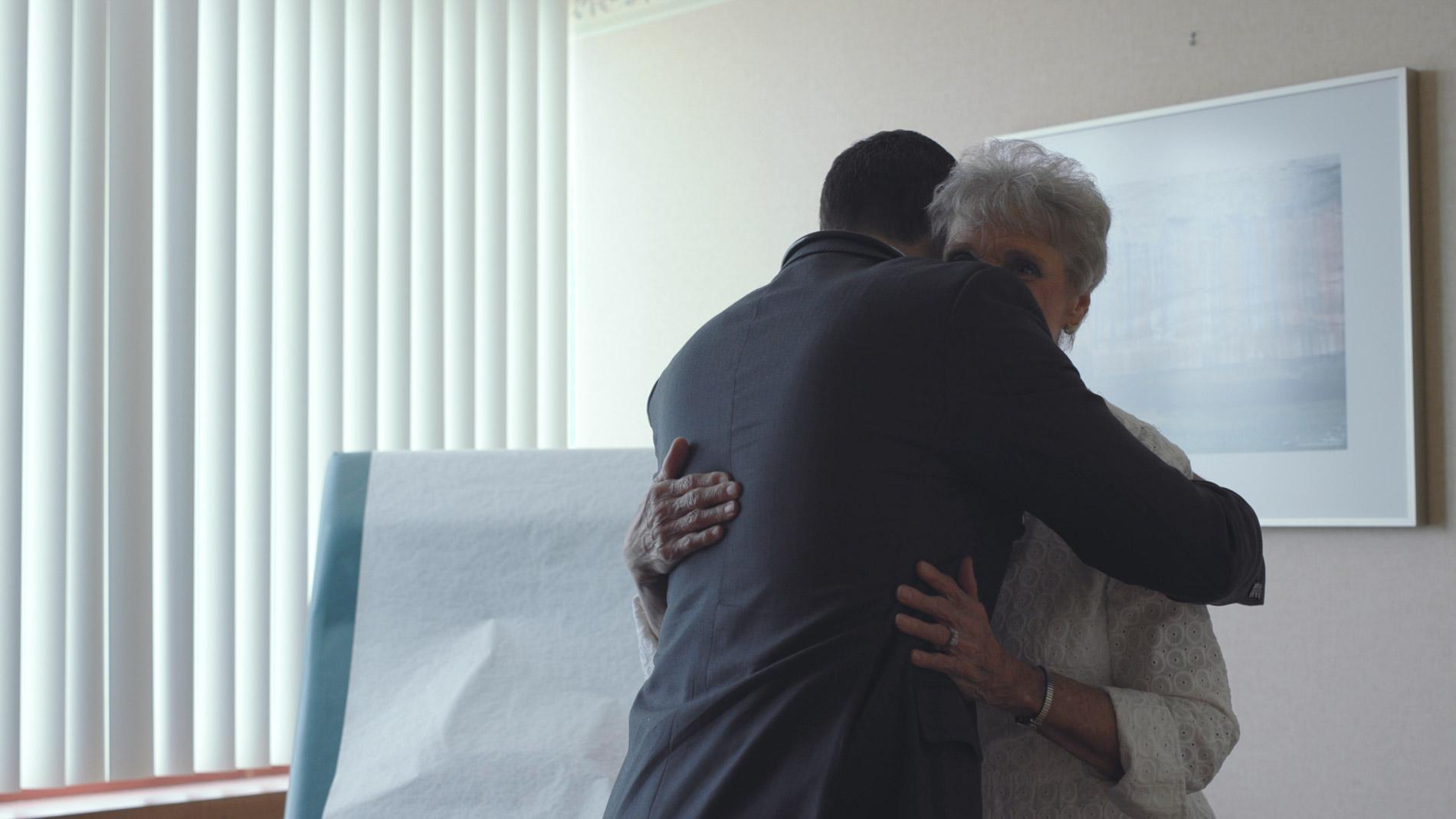 Moe Embracing Patient