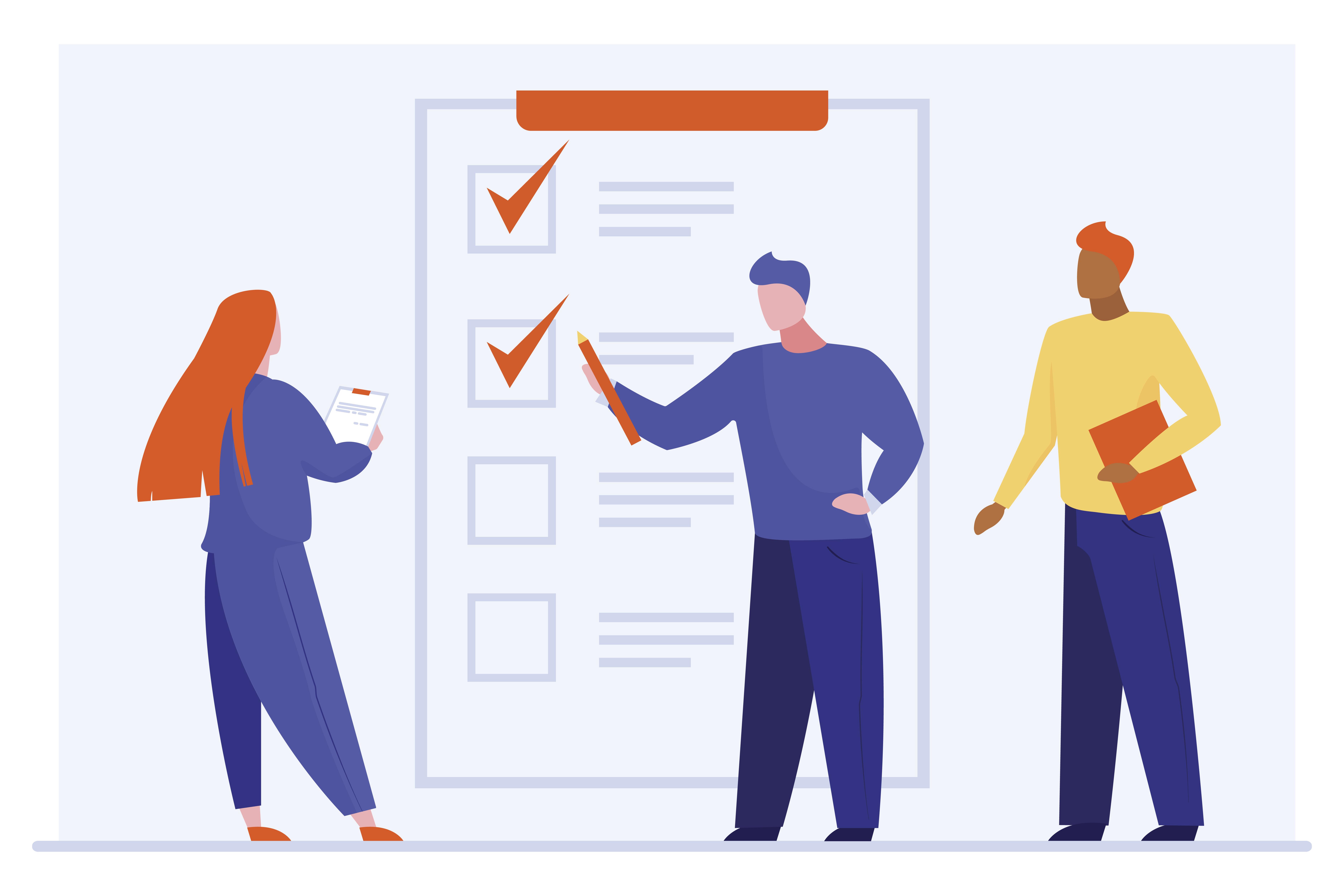 clients discuss form fields