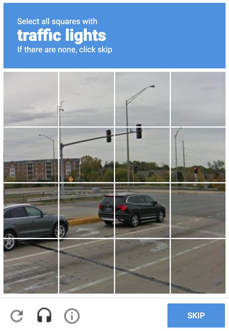 Google Recaptcha on Form Example