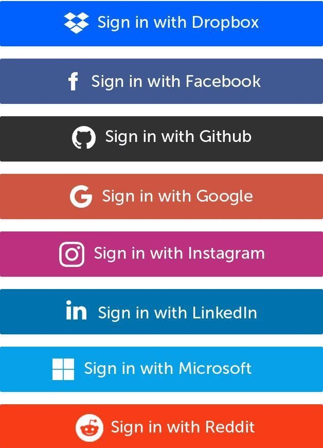 Social Sign In Examples