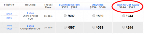 Most expensive fare on the right