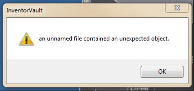 An example of a terrible and unhelpful error message