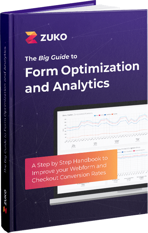 Zuko's Big Guide to Form Optimization and Analytics Cover Shot