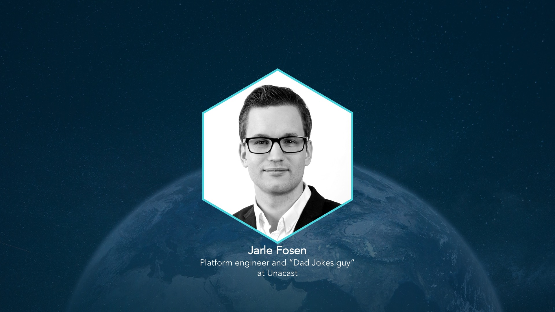 Presenting our team - Hello, Jarle
