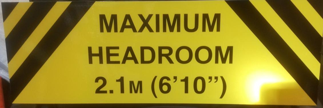 Aluminium Sign