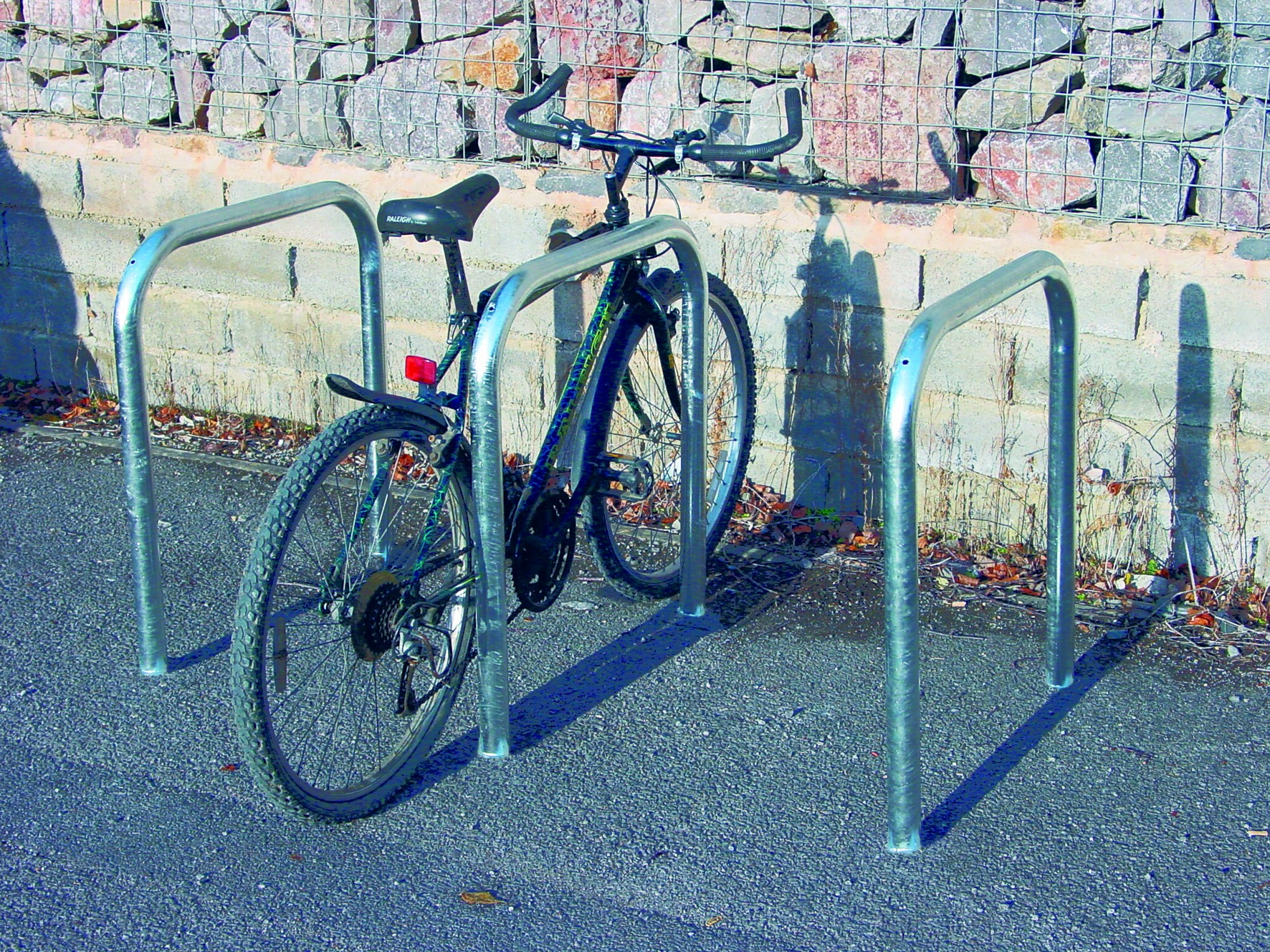 Sheffield Cycle Stands Built In