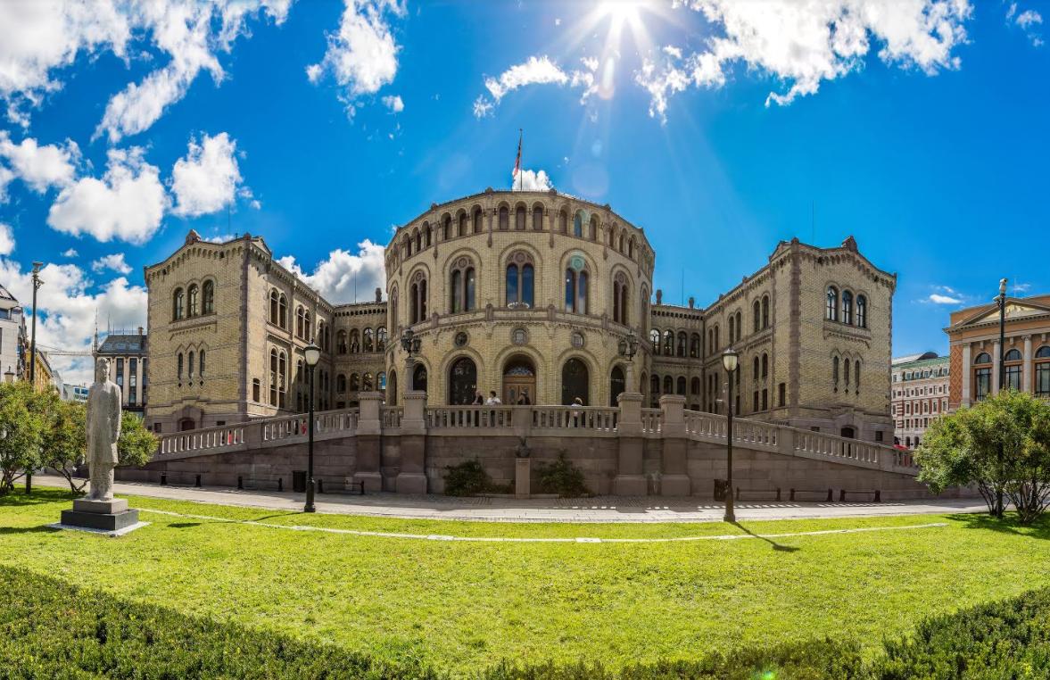 Inntaksrist Stortinget Oslo