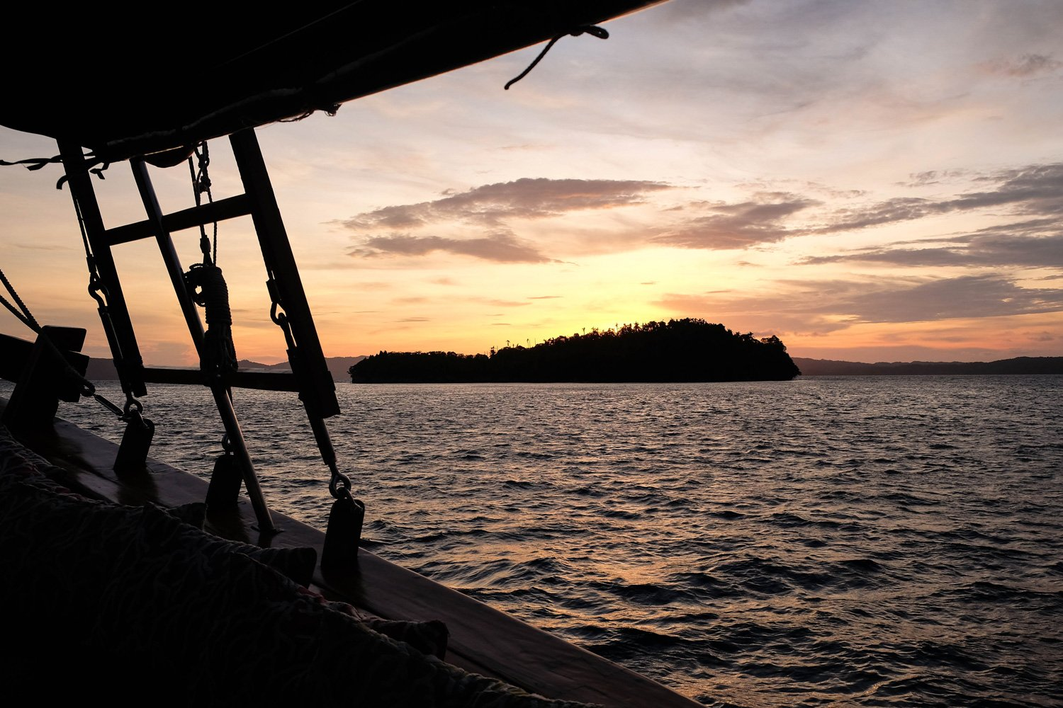 Sunset over Raja Ampat