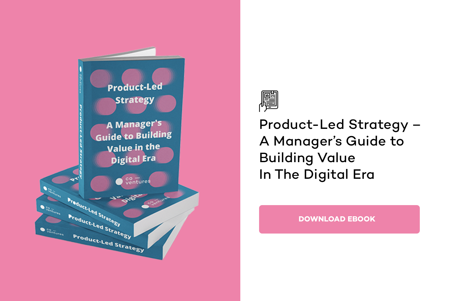 Product-Led Strategy – A Manager's Guide to Building Value in the Digital Era
