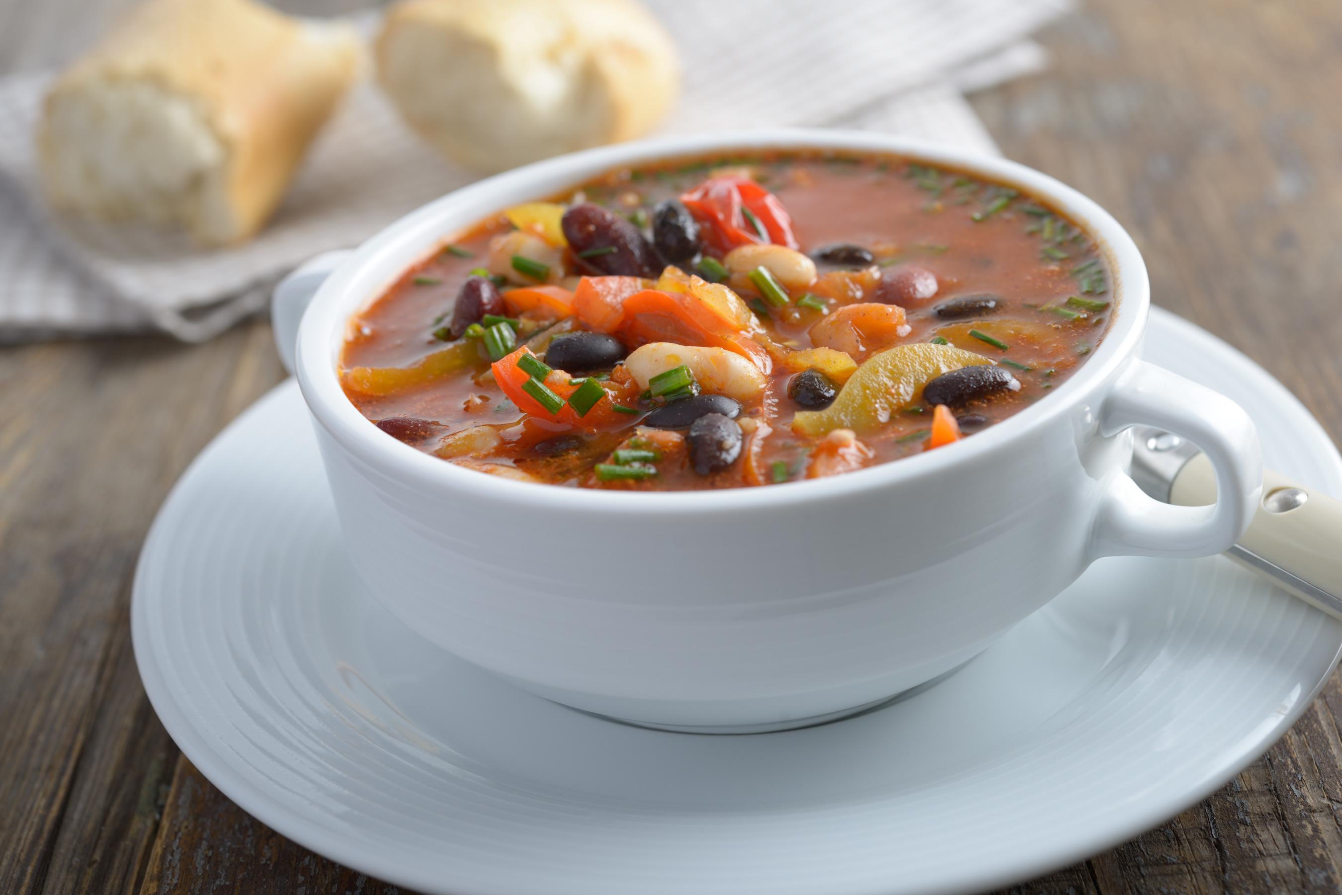 Chunky Bean Soup