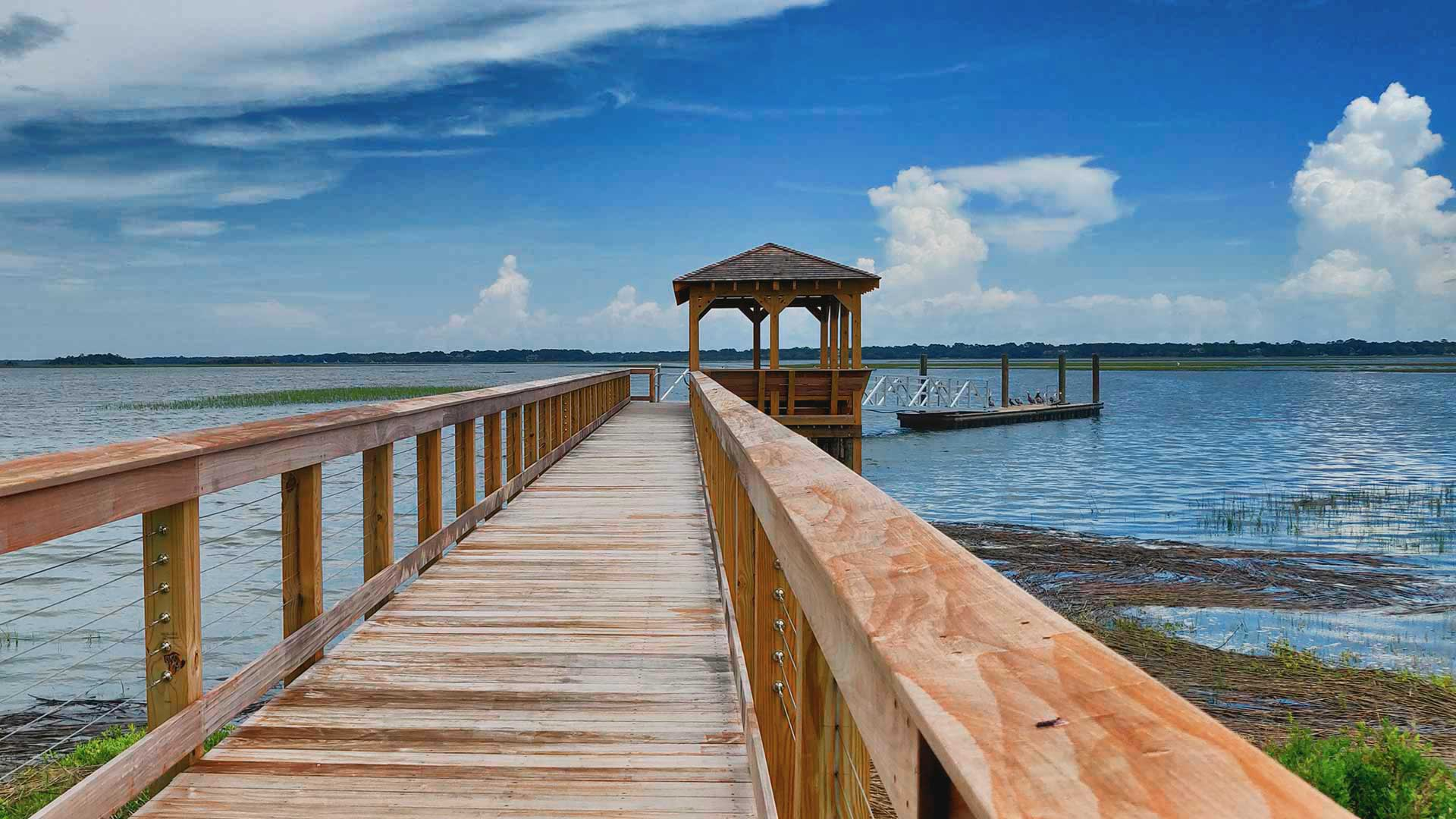 Kiawah River Community Dock - Dock Construction Charleston SC