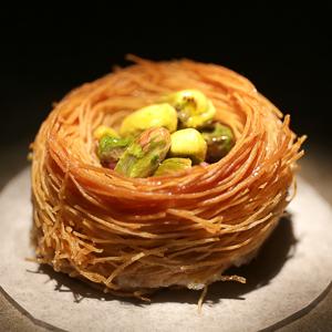 Birds nest pastry