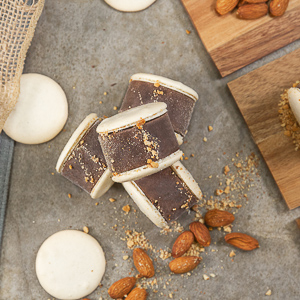 Mavens Creamery chocolate toasted almond