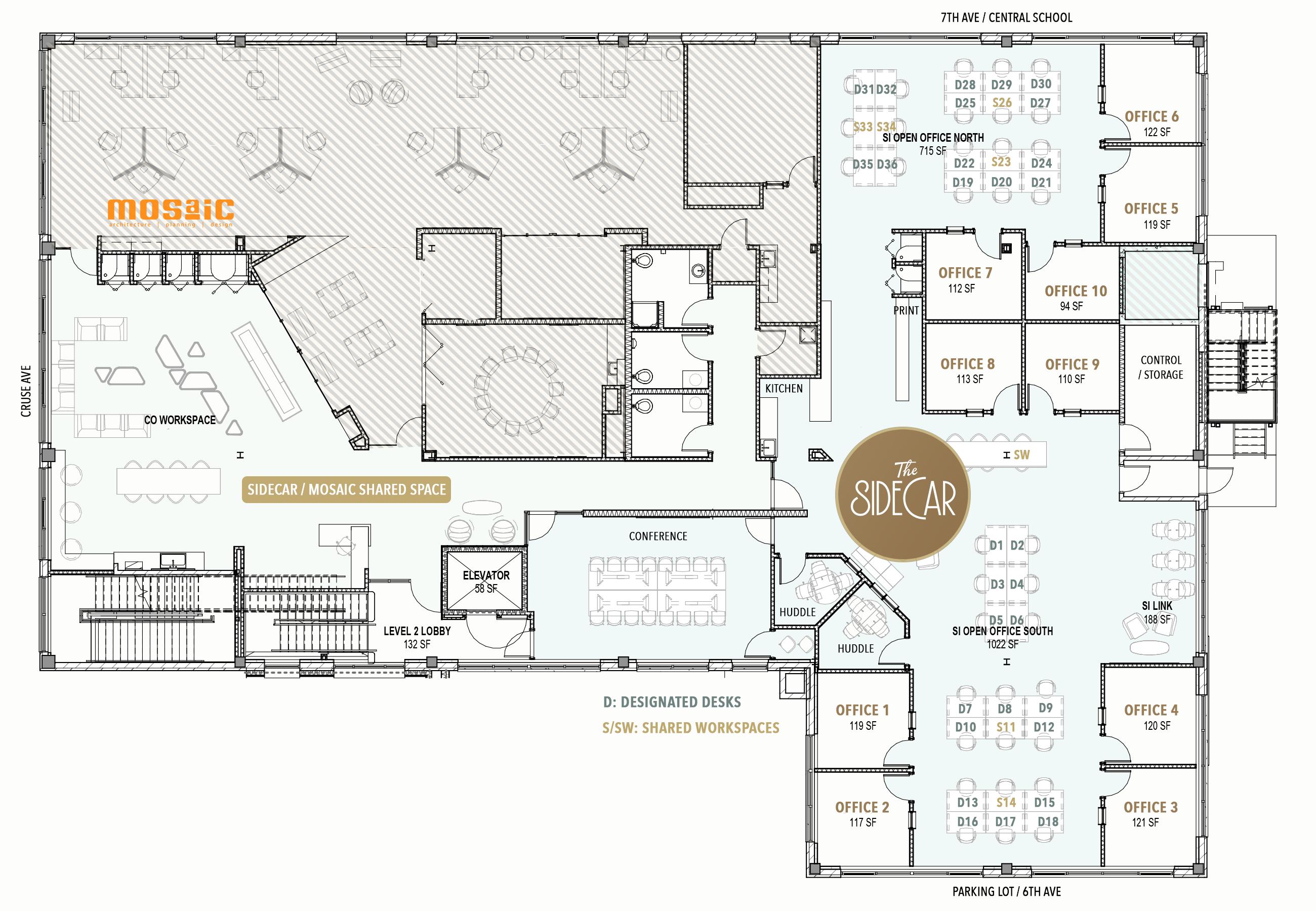 The Independent Floor Plan