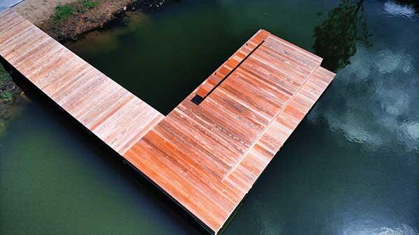 Kiawah River Pond Dock