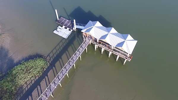 Spillway Dock