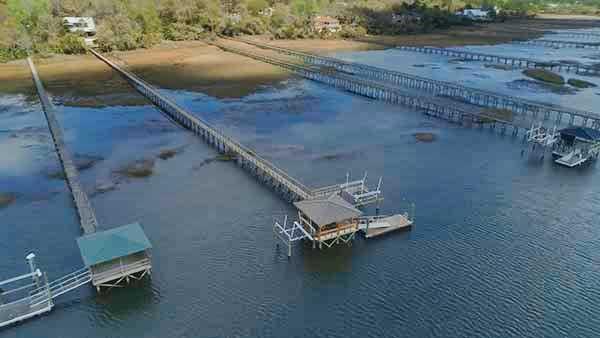 IPE Dock Mt Pleasant SC