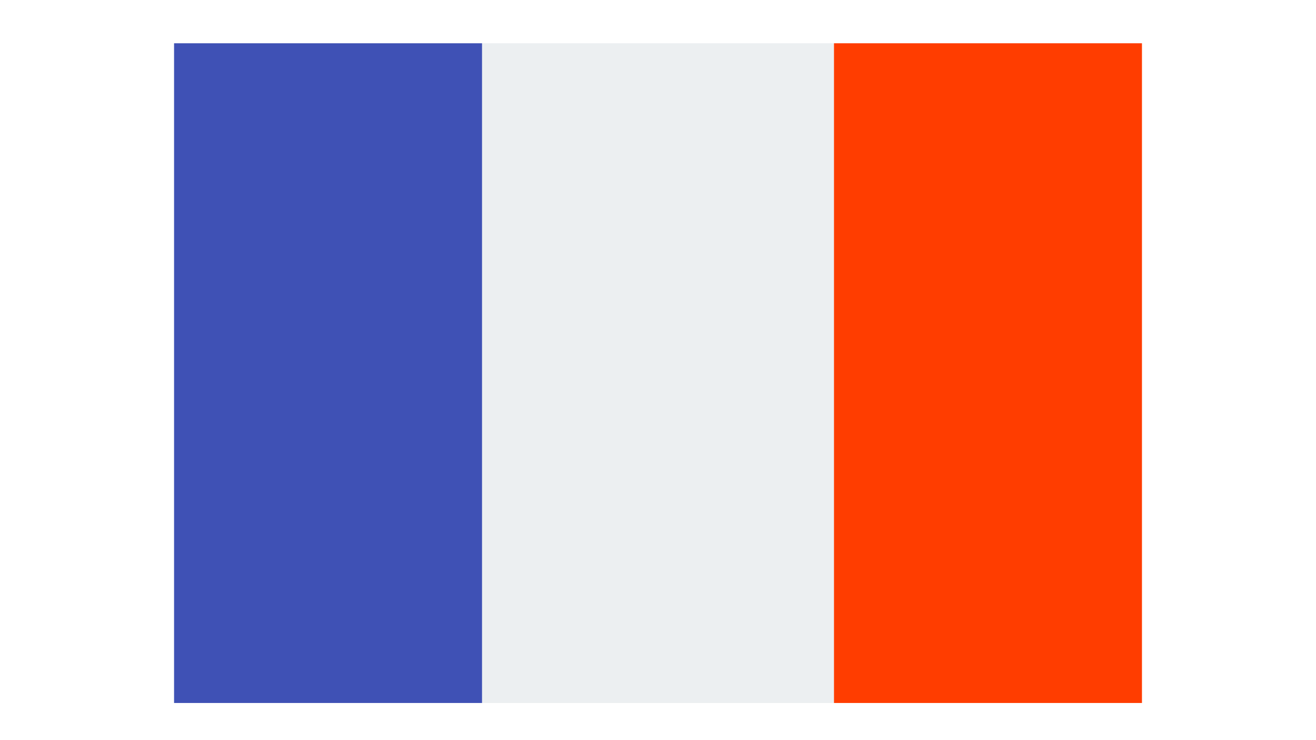 Flagge Sprachkurs Französisch