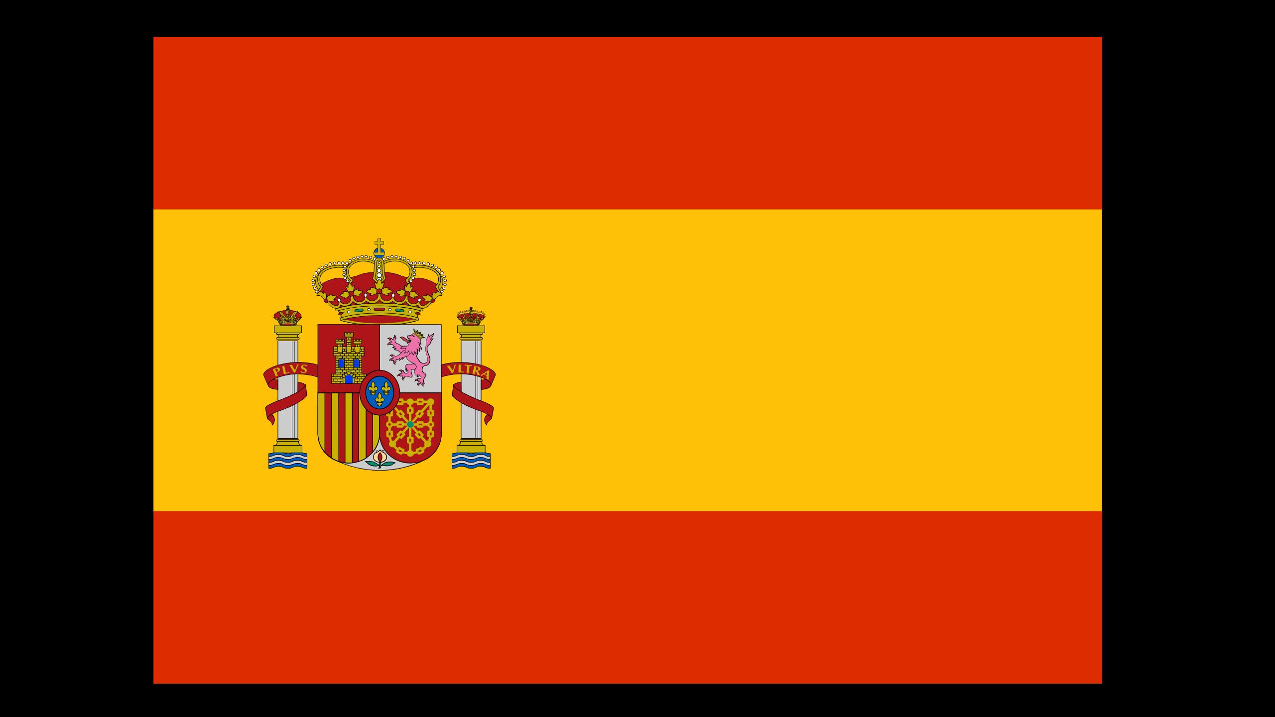 Flagge Sprachkurs Spanisch