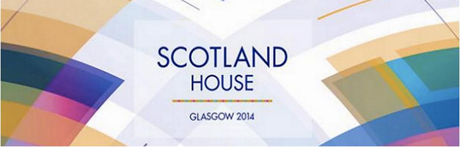 Scotland House Glasgow 2014 Logo