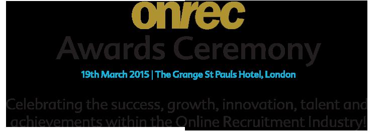 Onrec Awards Logo